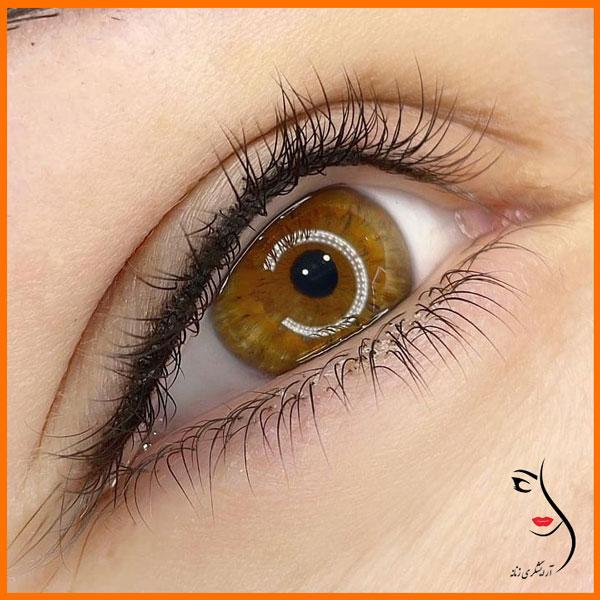 تاتو بن مژه ،تاتو خط چشم ، میکروپیگمنتیشن بن مژه، میکروپیگمنتیشنخط چشم